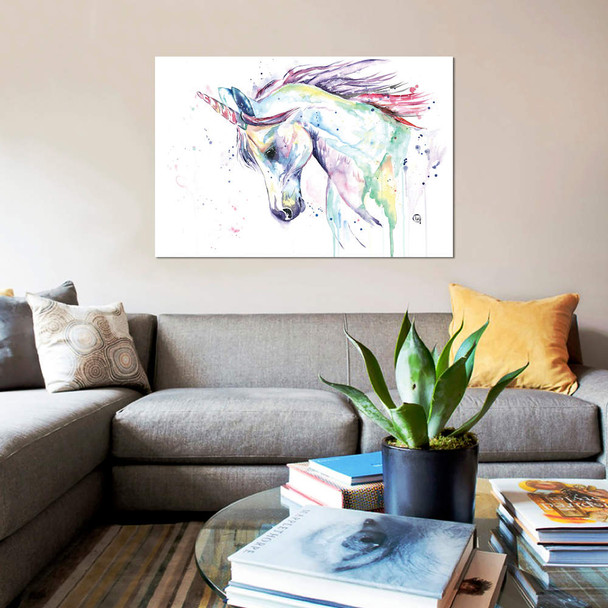 "iCanvas ""Kenzie`s Unicorn"" by Lisa Whitehouse Canvas Print~LWH56-1PC3"