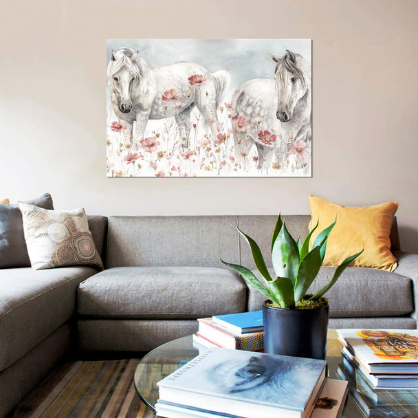 "iCanvas ""Wild Horses III"" by Lisa Audit Canvas Print~WAC9157-1PC3"