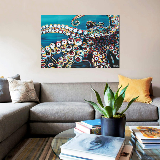 "iCanvas ""Wild Octopus I"" by Carolee Vitaletti Canvas Print~VIT39-1PC3"
