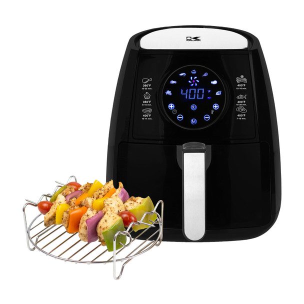 Digital Air Fryer with Dual Layer Rack~FT 42174