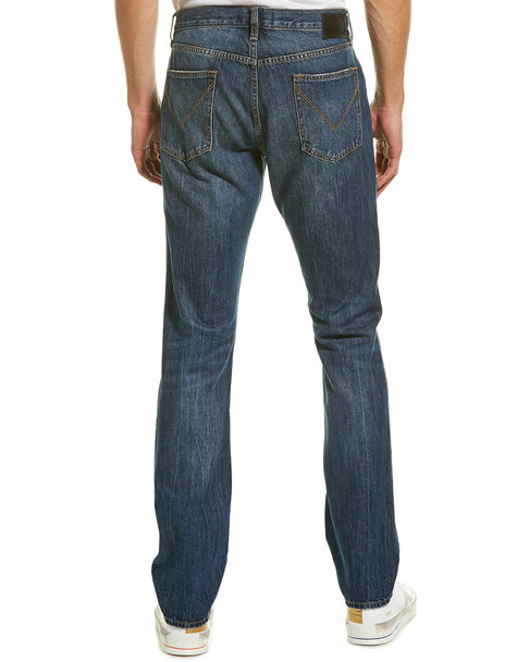 John Varvatos Star U.S.A. Bowery Fit Medium Blue Slim Straight Leg~1010304621