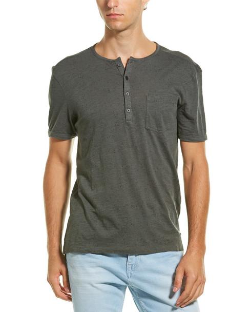 John Varvatos Star U.S.A. Ink Splatter Henley T-Shirt~1010304675