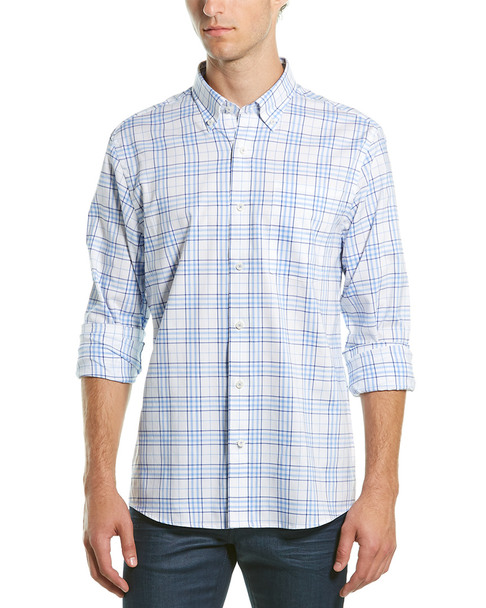 Southern Proper Henning Tailored Fit Woven Shirt~1010307127