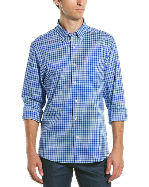 Southern Proper Henning Tailored Fit Woven Shirt~1010307129
