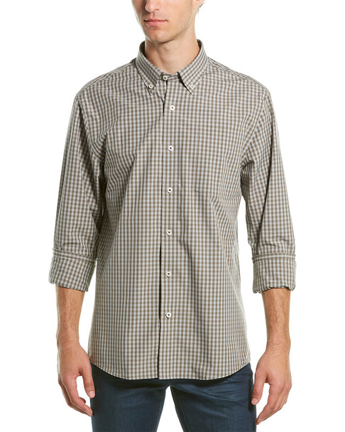 Southern Proper Henning Tailored Fit Woven Shirt~1010307140