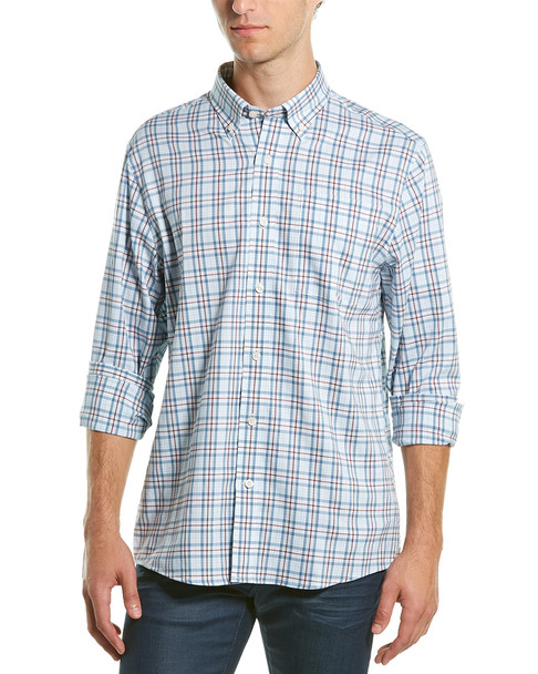Southern Proper Henning Tailored Fit Woven Shirt~1010307141