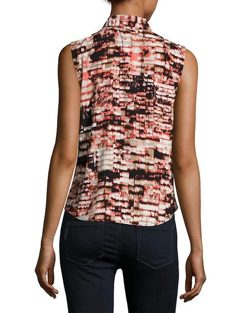 Calvin Klein Printed Top~1050799269