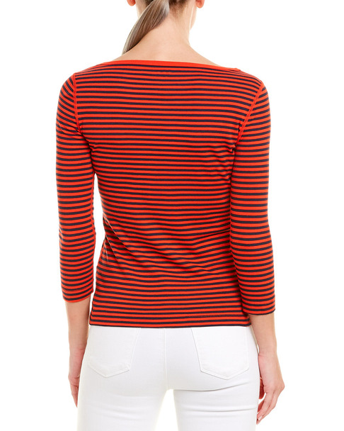 Three Dots British Boatneck T-Shirt~1411193336