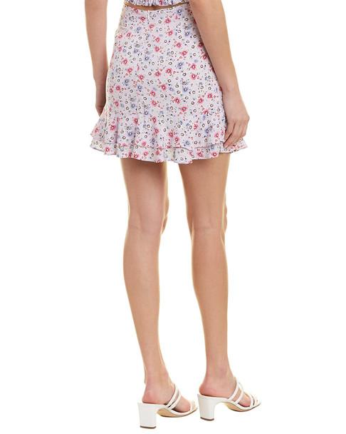 Dance & Marvel Mini Floral Skirt~1411195057