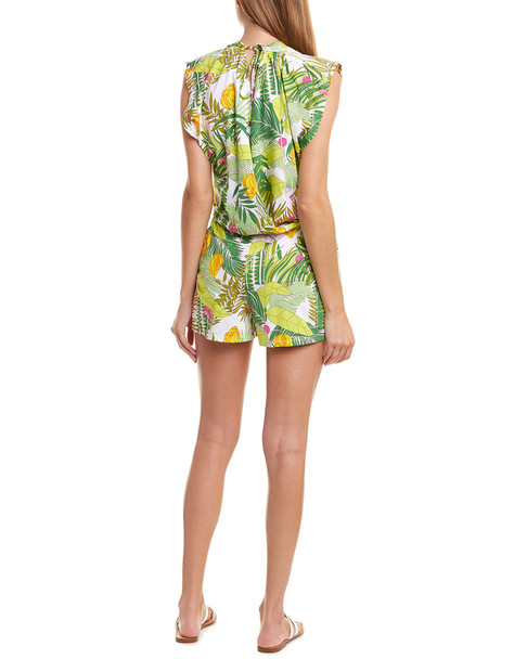 Trina Turk It's Bananas Cover-Up Romper~1411306891