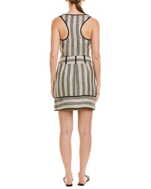 The Jetset Diaries Teiki Linen Mini Dress~1411354623