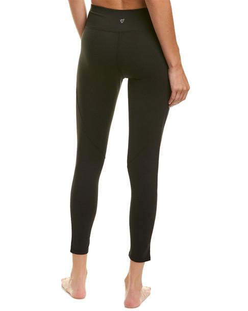 Betsey Johnson Iridescent Pearl Studded Medium-Rise 7/8 Legging~1411938311