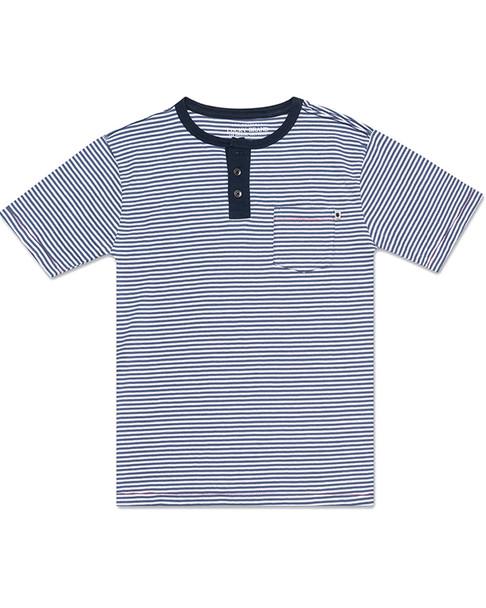 Lucky Brand Henley Stripe~1511272439