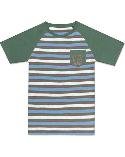 Lucky Brand Raglan Stripe T-Shirt~1511747718