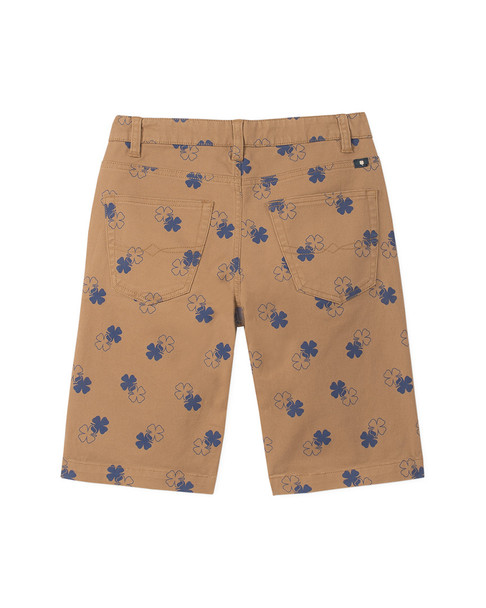 Lucky Brand Clover Print Flat Front Short~1511808229