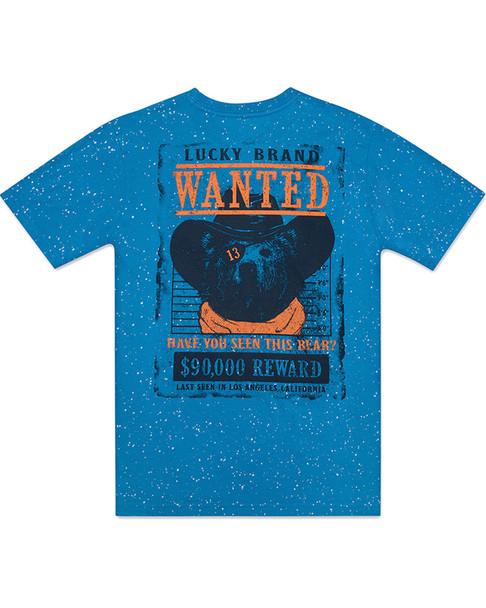 Lucky Brand Wanted Bear T-Shirt~1511824730