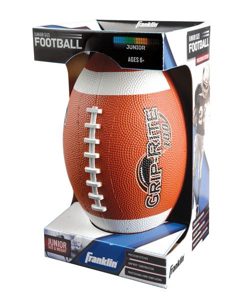 Franklin Sports Grip-Rite 100 Rubber Football~50406534430000