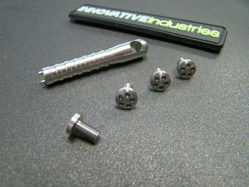 5 Hole Head Grip screws Stainless steel