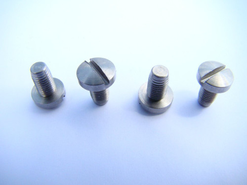 Flat Head Grip Screws Stainless Steel