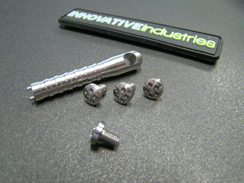 5 Hole Head Grip screws Slim Stainless steel