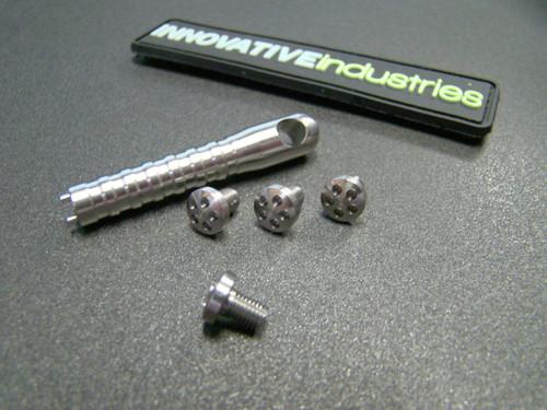 5 Hole Head Grip screws Slim Stainless steel