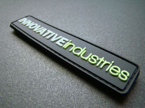 "Innovative industries PVC Patch ""Glow in the dark / Black"""