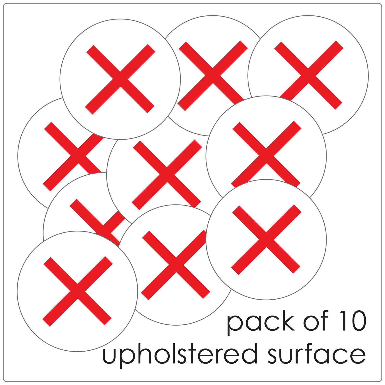 "ocial distancing CHAIR stickers, pack of 10, ""do not sit"" Self-adhesive Corona virus furniture sticker to help social distancing."