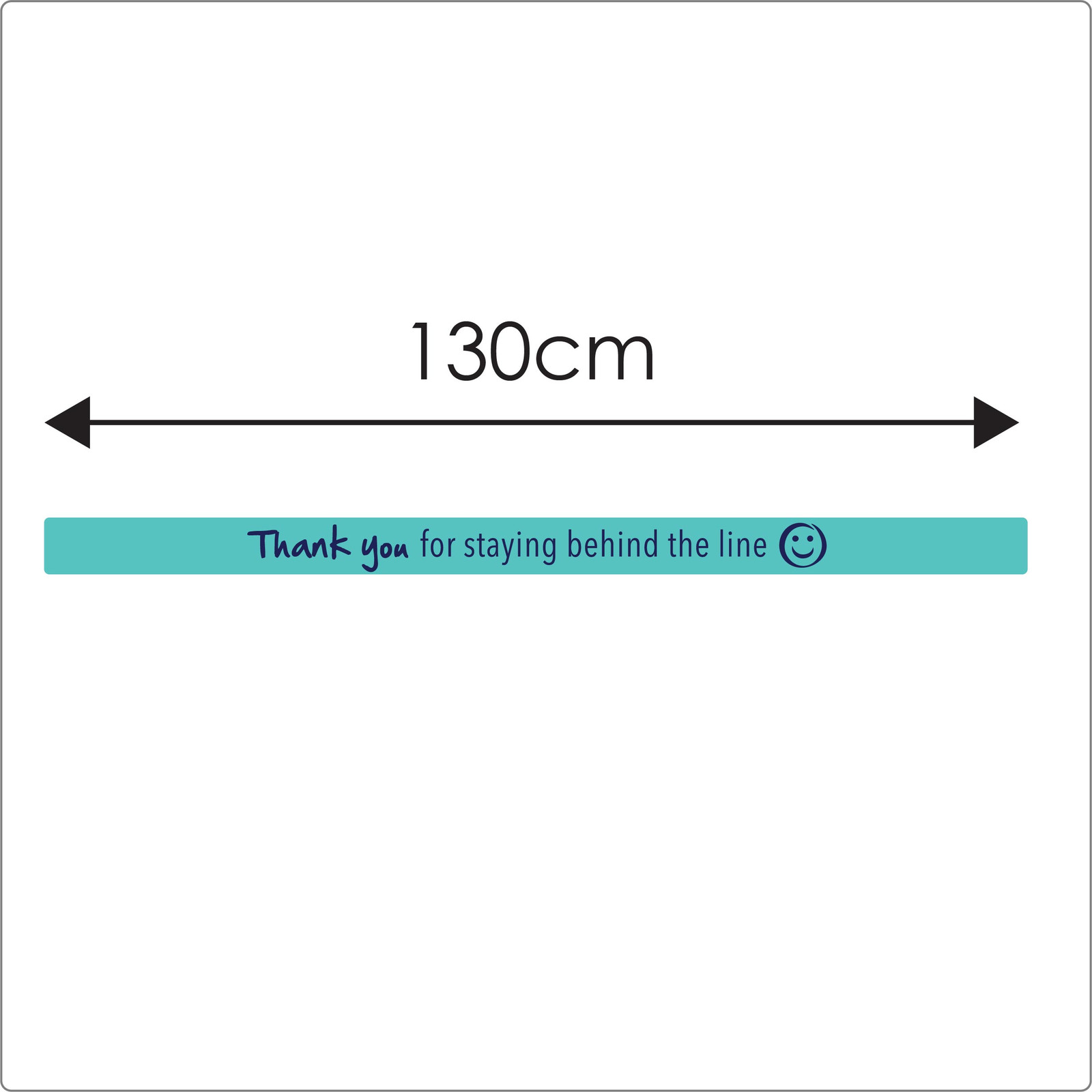 social distancing floor sticker for carpet, 2 lines, teal, sizing  Self-adhesive Corona virus floor sticker to help social distancing.