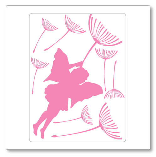 flying fairy (small) wall decal