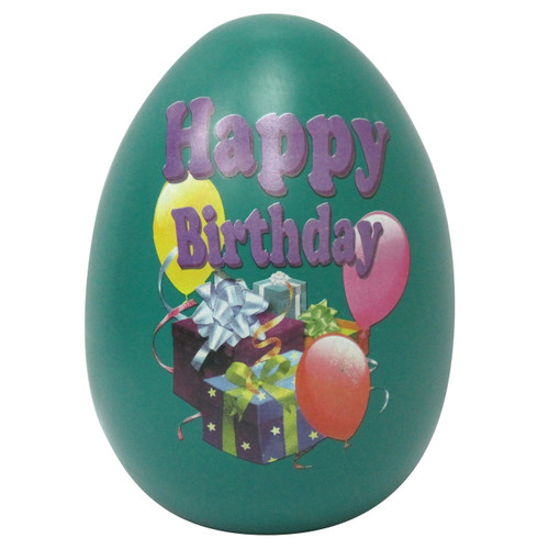 Biscay Egg Money Bank - Happy Birthday