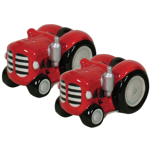 Tractor Salt & Pepper- Red