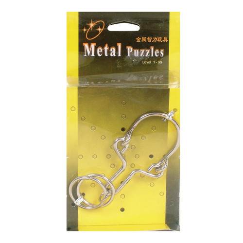 Metal Puzzles Assorted (12=1)