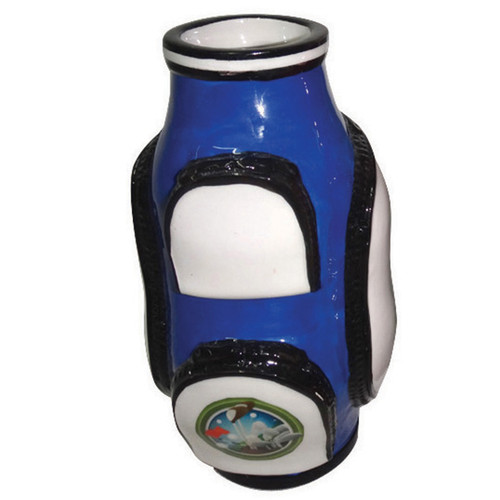 Golf Flower Vase- Blue