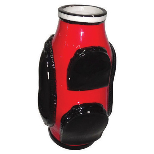 Golf Flower Vase- Red