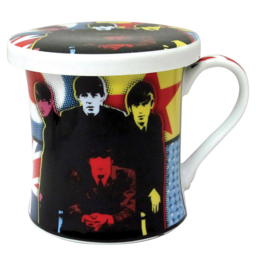 Pop Art Mug & Coaster - Fab 4