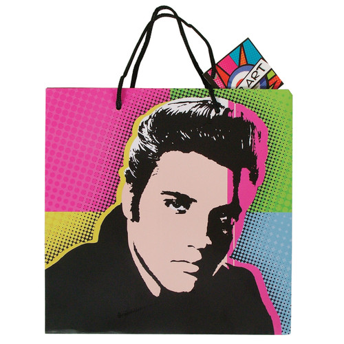 Pop Art Paper Bag- Elvis Presley