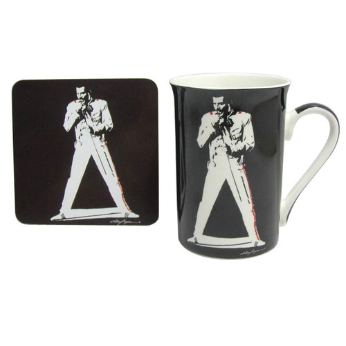 Legends Mug & Coaster- Freddy Mercury