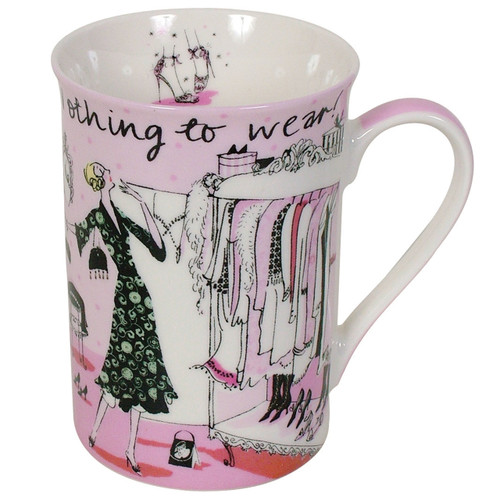 Sarah Gibb- Nothing To Wear Mug