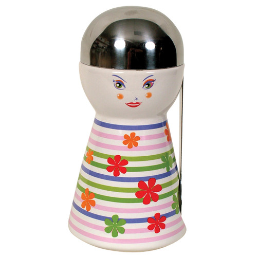 Small Canister/Spoon- Girl Pink