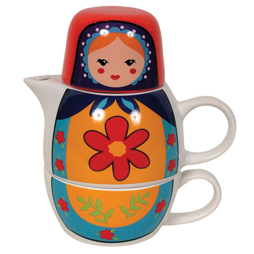 Doll Tea For One- Red