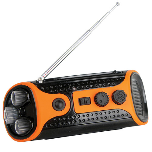 Dynamo Torch Radio Orange/Black