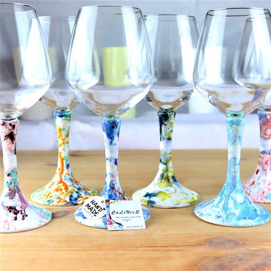 Italian ceramics Goblets-Calinics