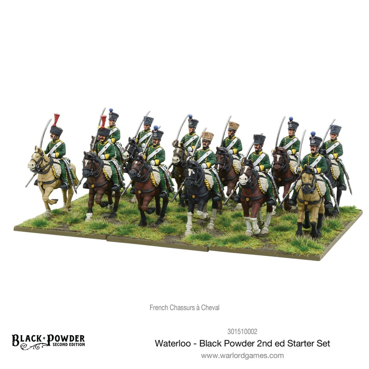 WARLORD GAMES FRENCH STARTER ARMY WATERLOO BLACK POWDER