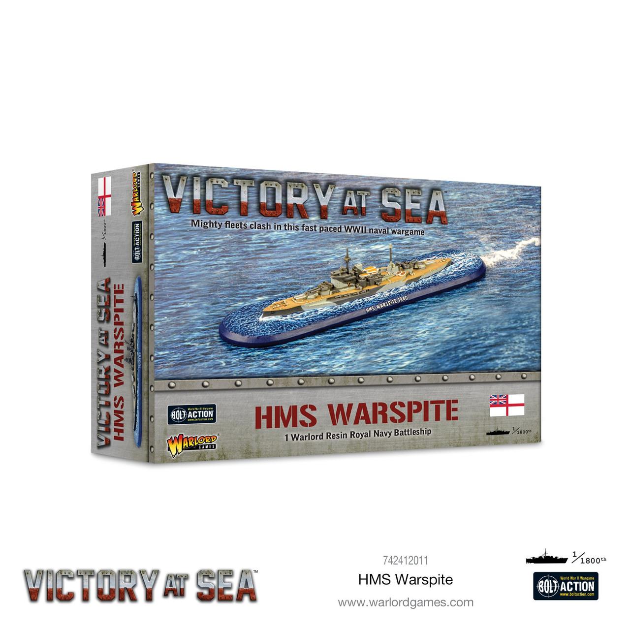 HMS Warspite -  742412011