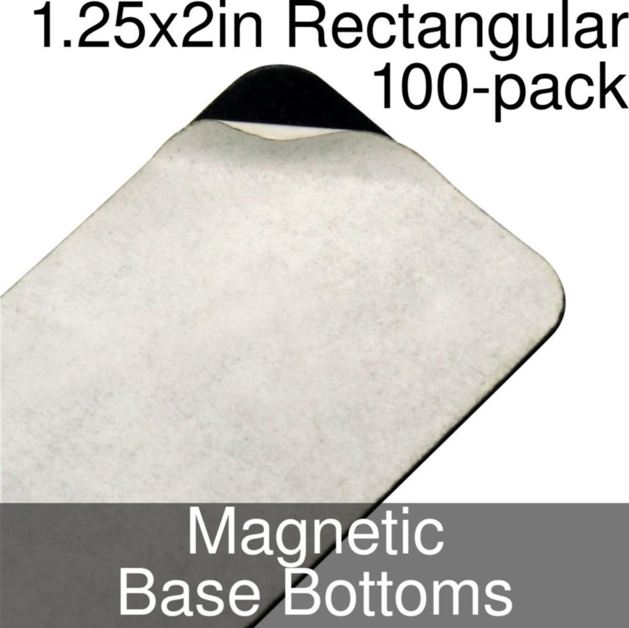 FoW Medium Base Self Adhesive Magnet 100 count