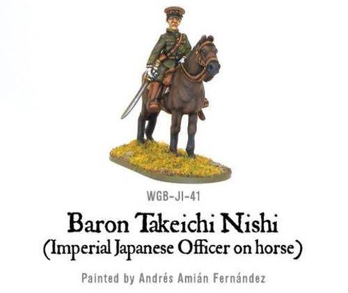 Baron Nishi (Imperial Japanese Officer on Horse)