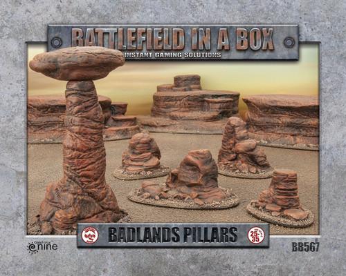 Badlands Pillars