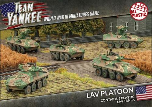 LAV-25 Vehicles w/AT and Mortar Upgrades