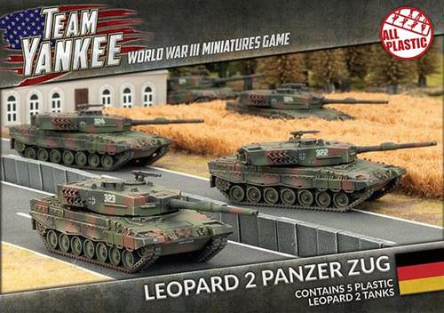 Team Yankee West German  Leopard 2 Panzer Zug