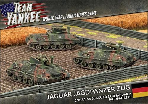 Team Yankee West German  Jaguar Jagdpanzer Zug